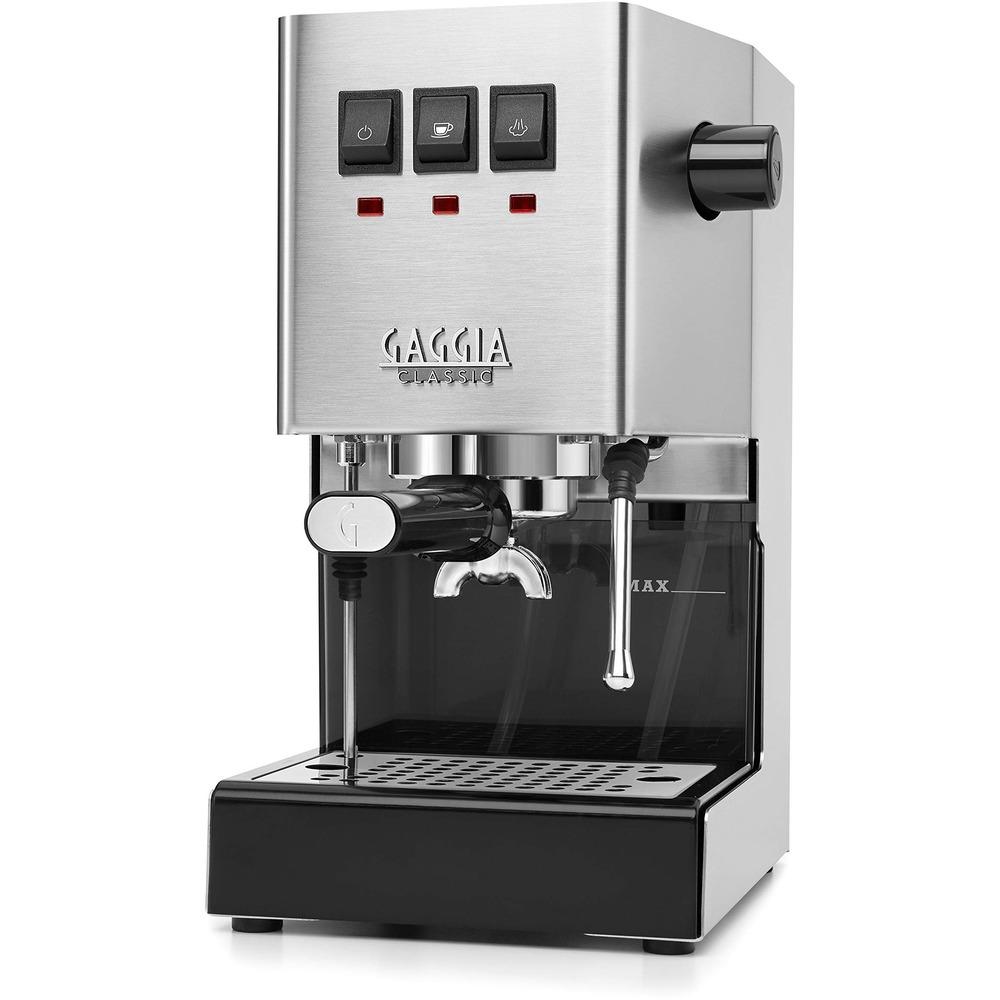 Gaggia Ri9480 Espresso Makinesi şık tasarımı ile dikkat çekiyor
